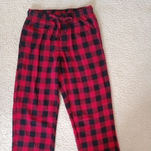 Men's Red Croft & Barrow Knitted Pajama Pants